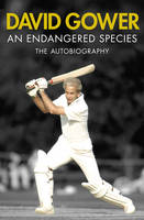 Cover for An Endangered Species by David Gower