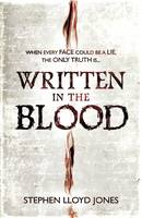 Cover for Written in the Blood by Stephen Lloyd Jones