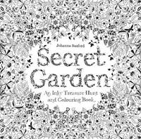 Cover for Secret Garden An Inky Treasure Hunt and Colouring Book by Johanna Basford