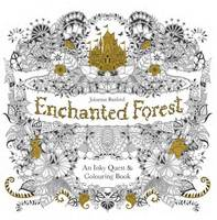 Cover for Enchanted Forest An Inky Quest and Colouring Book by Johanna Basford