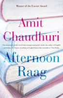 Cover for Afternoon Raag by Amit Chaudhuri