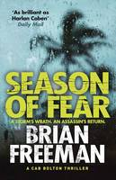 Cover for Season of Fear A Cab Bolton Thriller by Brian Freeman
