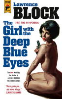 Cover for The Girl with the Deep Blue Eyes by Lawrence Block