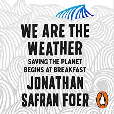 Cover for We Are the Weather by Jonathan Safran Foer