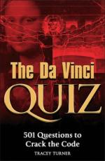 Cover for The Da Vinci Quiz Book by Tracey Turner