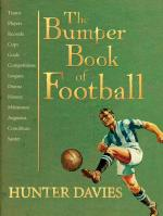 Cover for The Bumper Book of Football by Hunter Davies