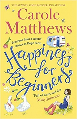 Cover for Happiness for Beginners by Carole Matthews