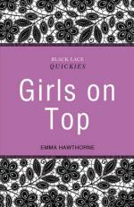 Black Lace Quickies: Girls on Top by Emma Hawthorne