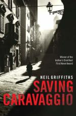 Cover for Saving Caravaggio by Neil Griffiths