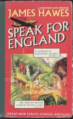 Cover for Speak for England by James Hawes
