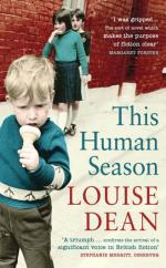 Cover for This Human Season by Louise Dean