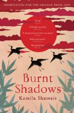 Cover for Burnt Shadows by Kamila Shamsie