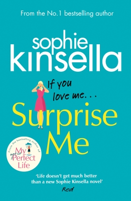 Cover for Surprise Me by Sophie Kinsella