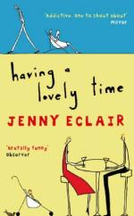 Cover for Having A Lovely Time by Jenny Eclair