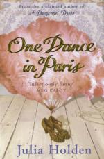 Cover for One Dance in Paris by Julia Holden