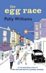 Cover for The Egg Race by Polly Williams