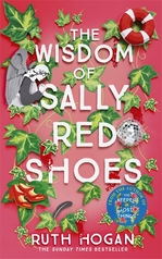 Book Cover for The Wisdom of Sally Red Shoes by Ruth Hogan