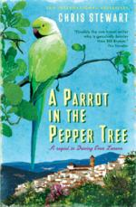 Cover for A Parrot in the Pepper Tree by Chris Stewart
