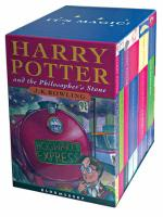 Harry Potter Boxed Set : Children's Edition by J.K. Rowling