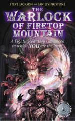 Fighting Fantasy 1: The Warlock of Firetop Mountain by Steve, Livingstone, Ian Jackson