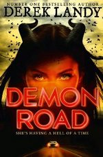 Cover for Demon Road by Derek Landy