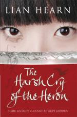 Cover for The Harsh Cry of the Heron by Lian Hearn