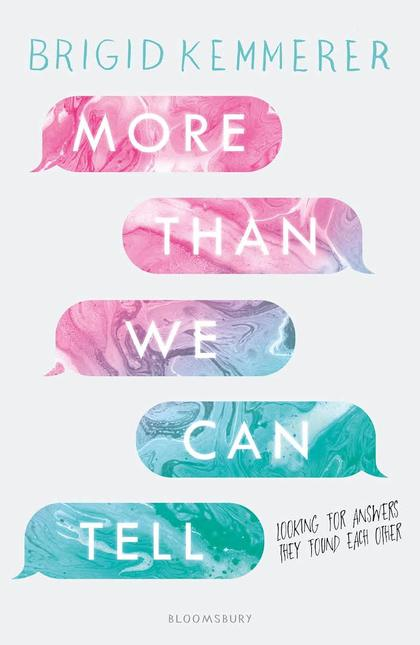 Cover for More Than We Can Tell by Brigid Kemmerer